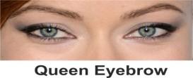 Queens brow