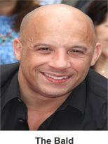 the bald